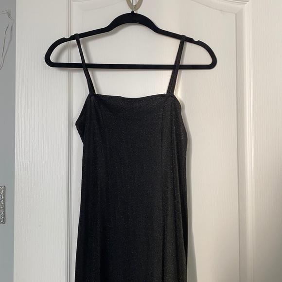 Forever 21 Sparkly Black Dress